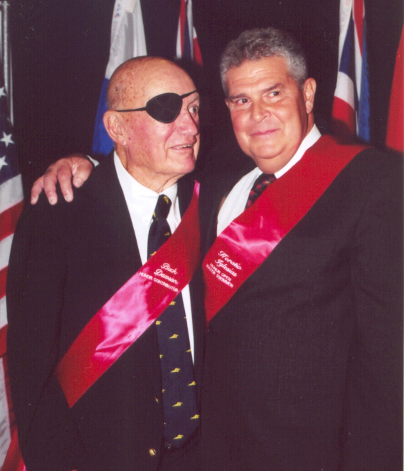 ISHOF 2003 Horatio Iglesias and Buck Daw