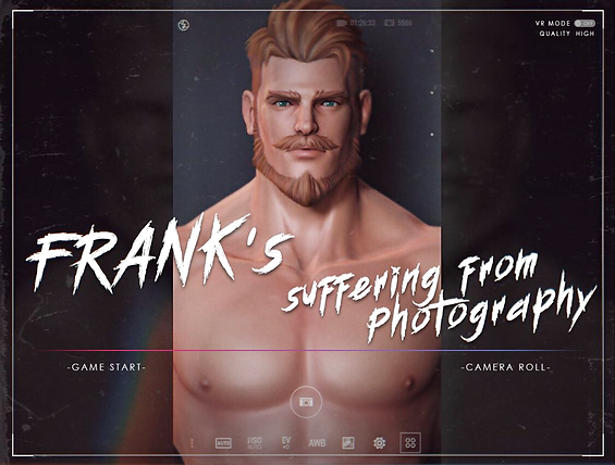 Frank received a task for photography work, he has to shoot the policemen's calendar. and you are the photographer.    Like this once-in-a-lifetime good opportunity, do you want Frank to take a boring police publicity photo and end the game? itdepends on your wisdom...