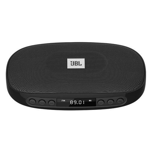 JBL Tune (BLACK) Wireless Bluetooth Speaker with SD Card reader / FM and  built-i
