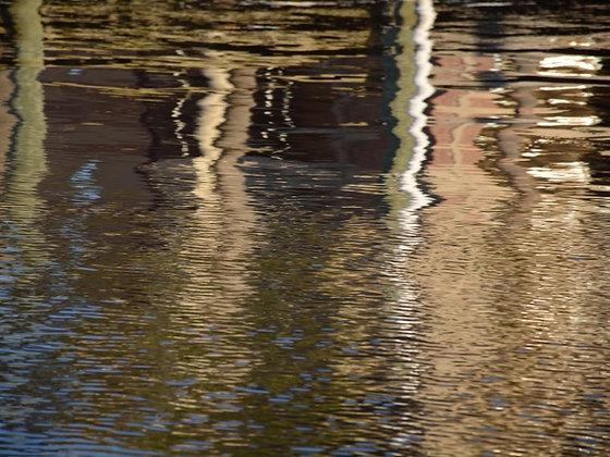 Terracotta Waters 1, Lake Pontchartrain reflections