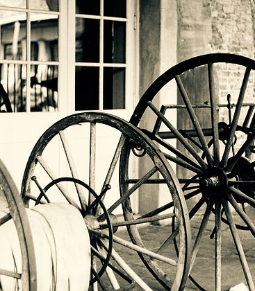 Cabildo Wheels 2, 1976 Sepia, New Orleans