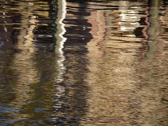 Terracotta Waters 2, Lake Pontchartrain reflections