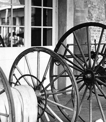 Cabildo Wheels 1, 1976 BW, New Orleans