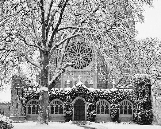 All Saints Snow, Sewanee, TN
