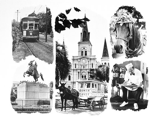 New Orleans Collage, 1980