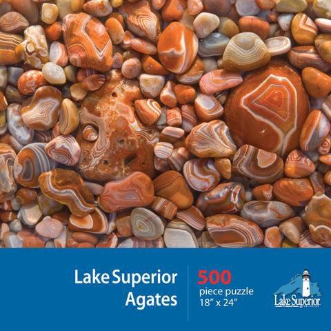 Lake Superior Agates Jigsaw Puzzle