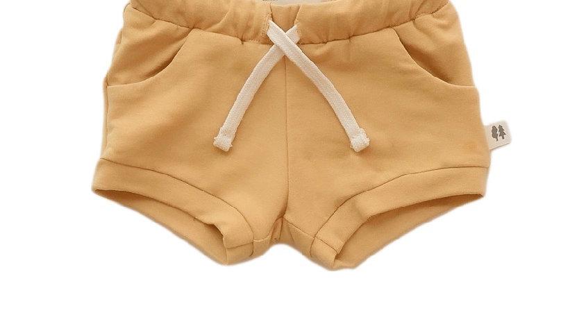 Little Thunder - Basecamp Shorties - Golden Yellow