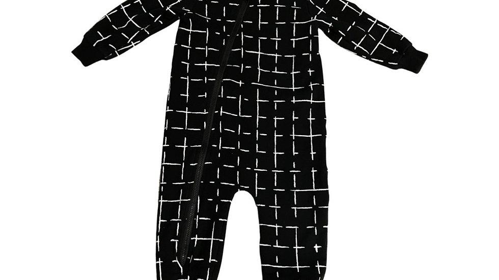 (Consignment) Miles Baby zip romper 12m