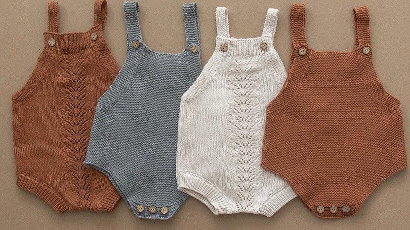 Mebie Baby - Knit Rompers