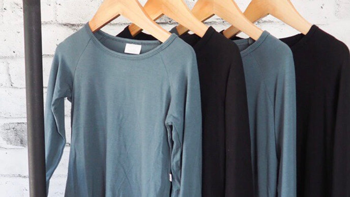 Little Lot Co - Long sleeve tee in bamboo