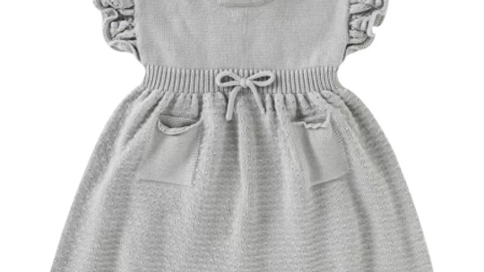 Knit dress - short sleeve