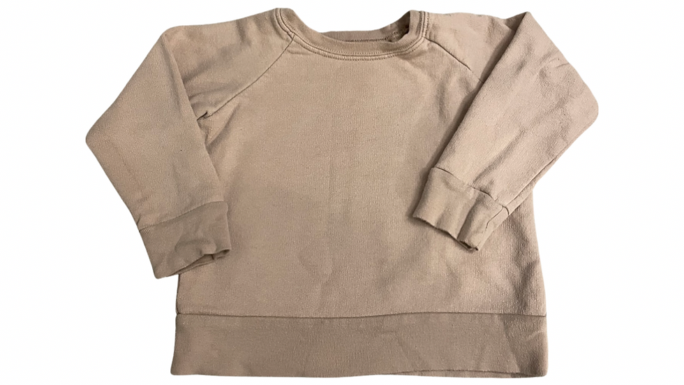 (Consignment) Mini Mioche crewneck 2T (pink/beige)