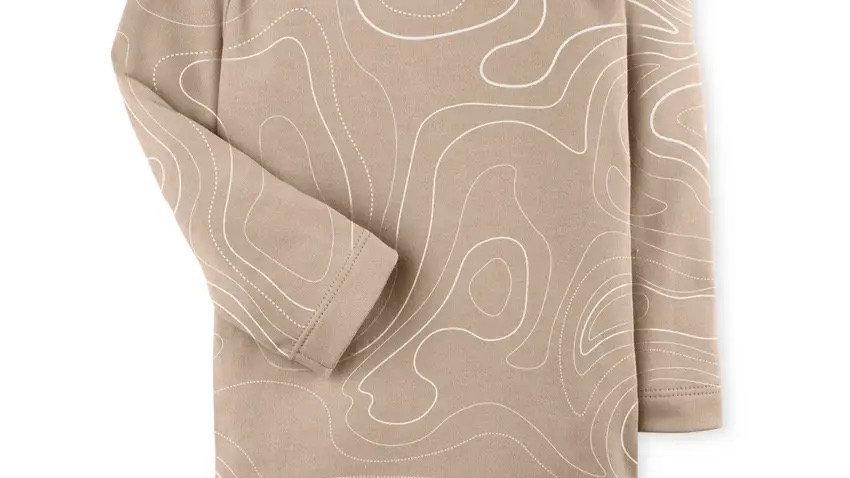 River Bodysuit  - Clay Map
