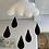 Thumbnail: Felt cloud - crib mobile