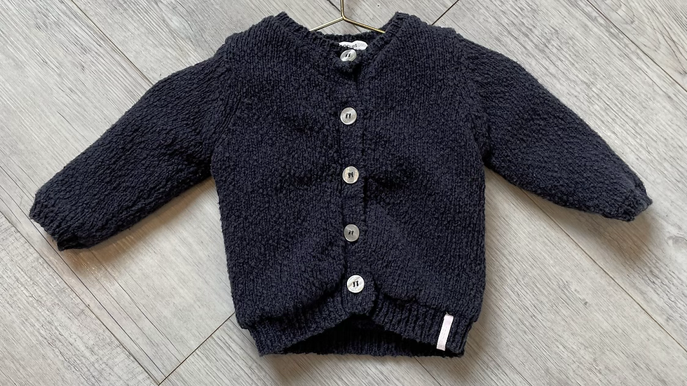 (Consignment) Noppies knit cardigan 3-6m