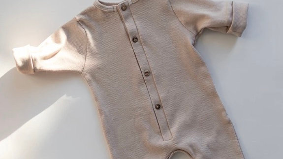 Kindly the label - Ribbed baby romper