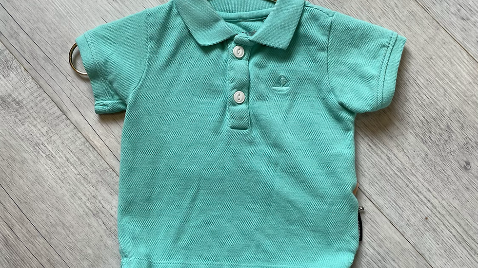 (Consignment) Noppies polo 2-4m