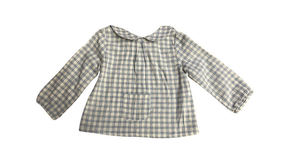 (Consignment) Zara collared long sleeve 6-9m