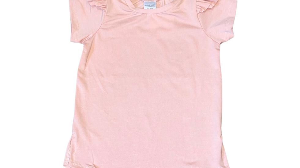 Posh & Cozy - Cynthia t-shirt dress STRAWBERRY