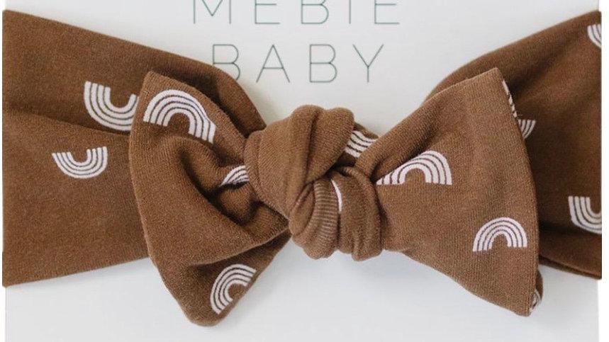 Mebie - Rust rainbow headwrap (adjustable) O/S