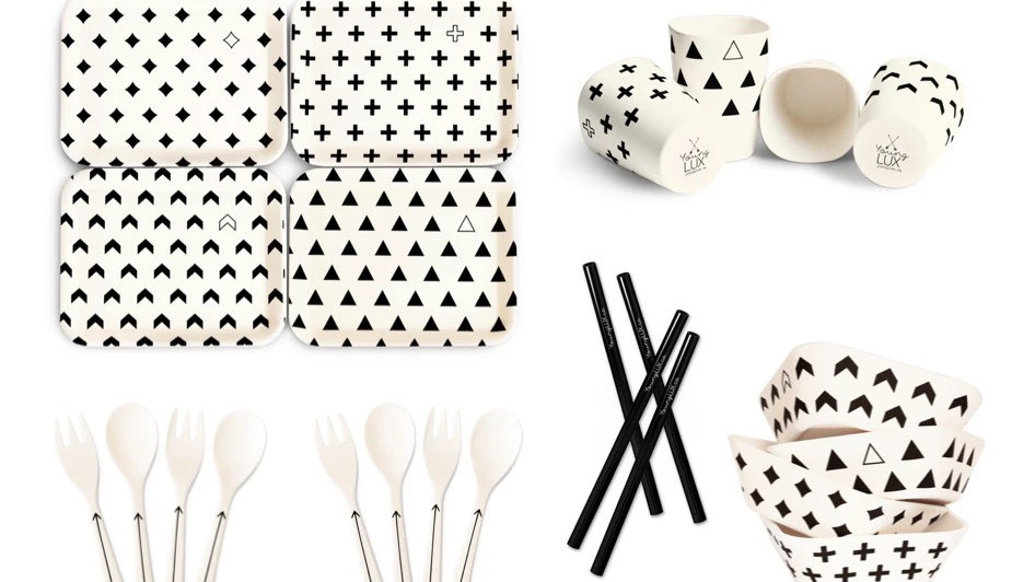 YoungLux - tableware 24-pc set