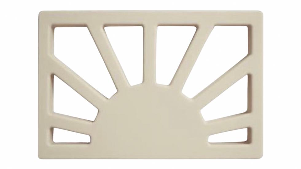 Mushie - silicone teether - sunrise