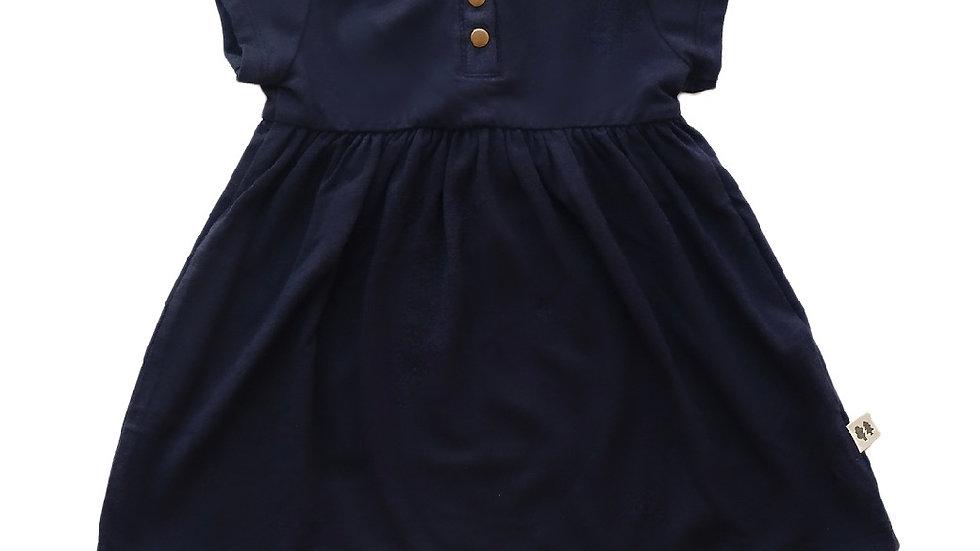 Little Thunder - Rory Dress - Navy