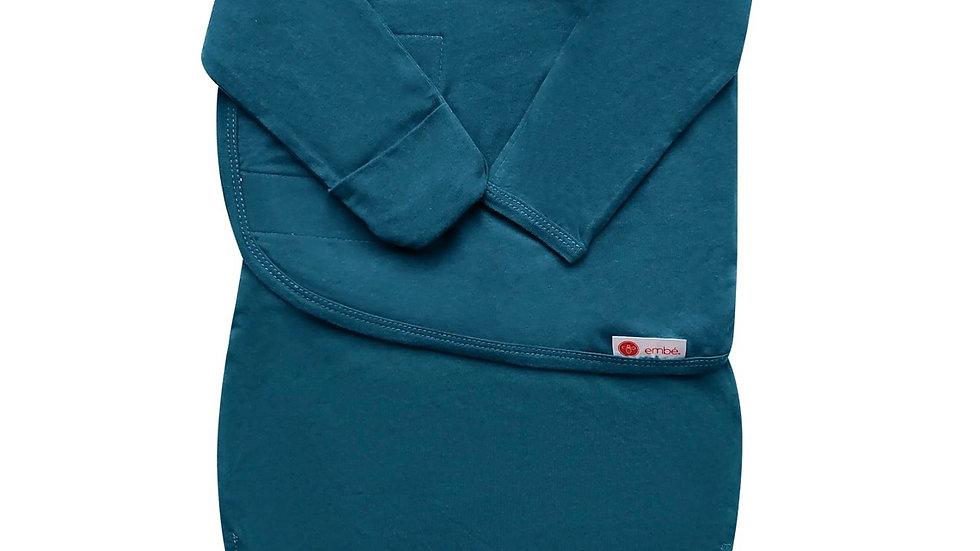 Embé sleepsack swaddle longsleeve (SPRUCE)