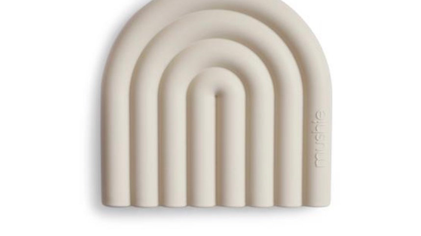 Mushie - Silicone rainbow teether