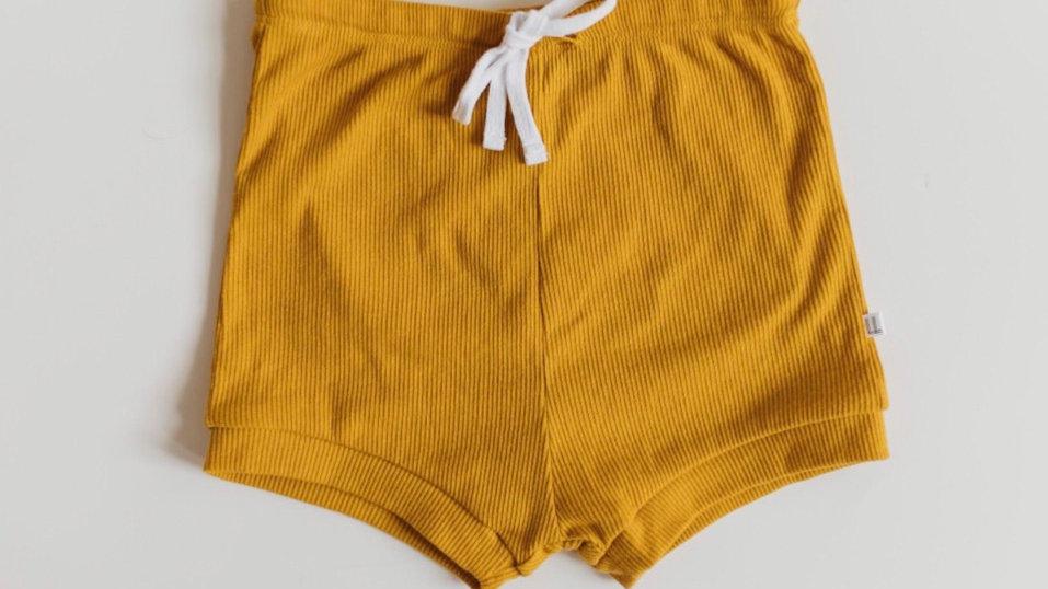 LottleLottCo - Organic ribbed shorts