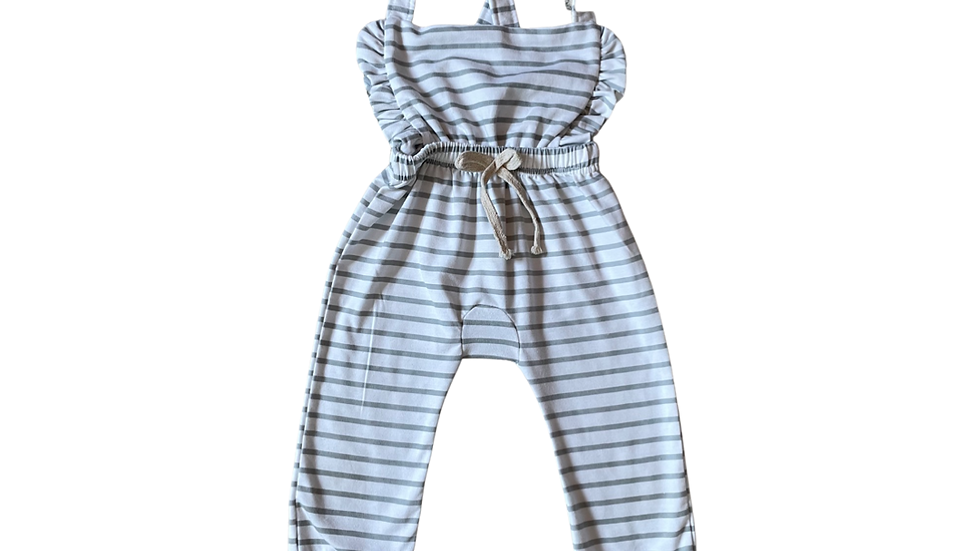 (Consignment) Hunny&Hive ruffle overalls 3T
