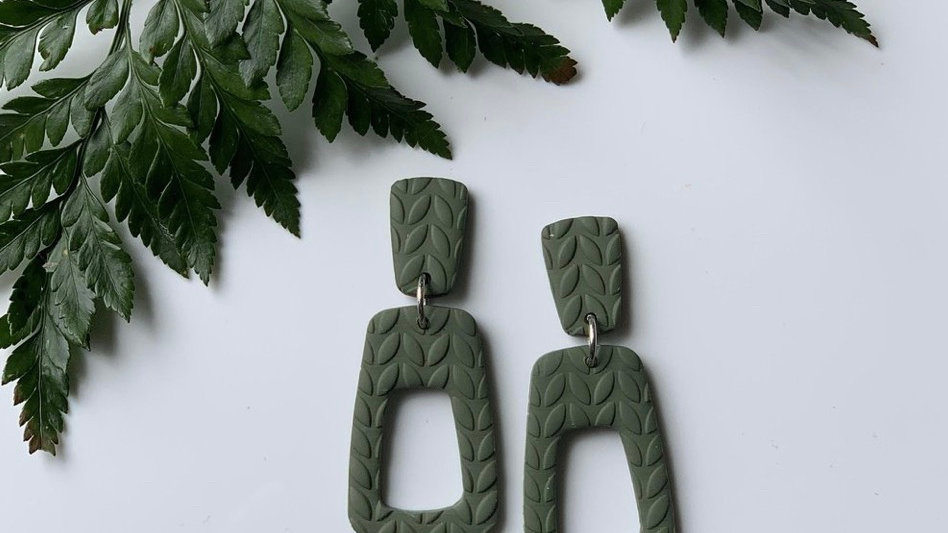 Marble + Bow - The Sage Dangle
