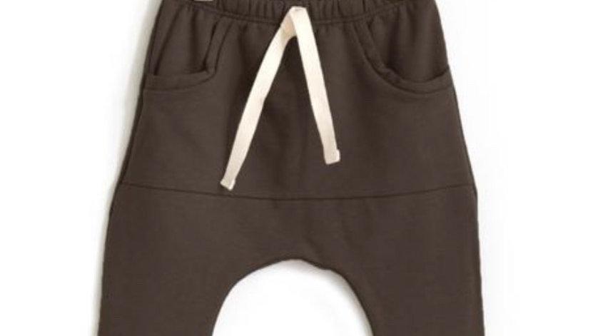 Posh & cozy - pocket joggers - CHOCOLATE