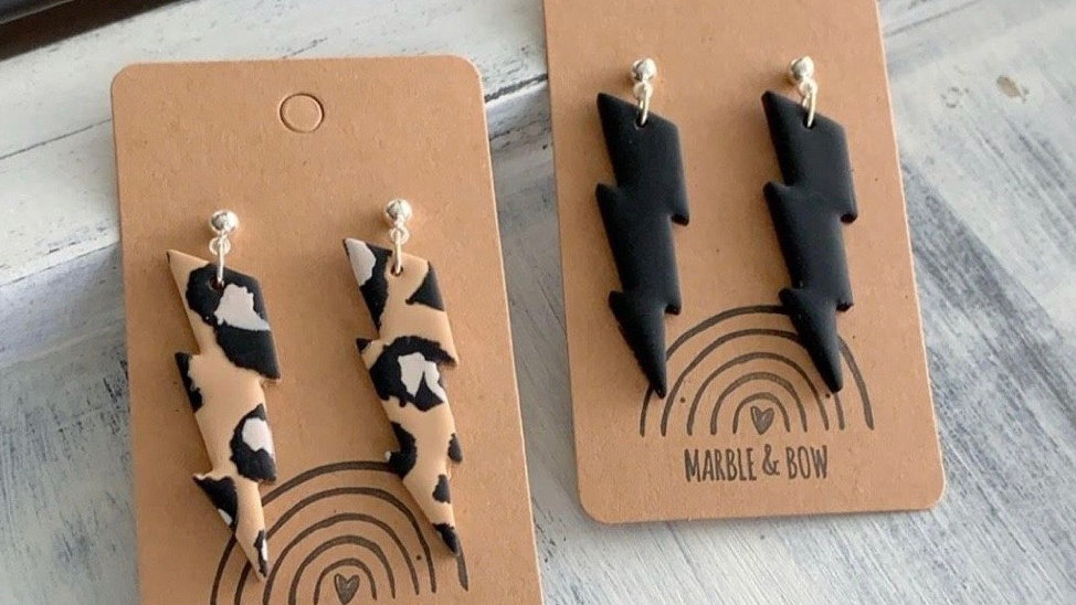 Marble + Bow - Electric Dangle