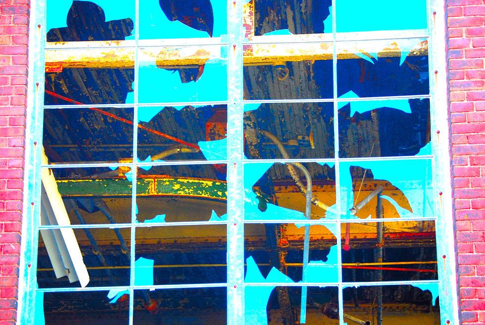 REMINGTON BLUE WINDOW.52