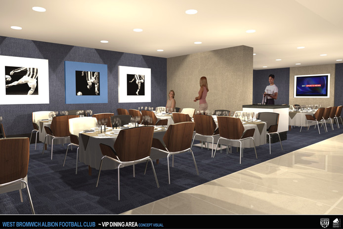 West Bromwich Albion - VIP Dining Visual