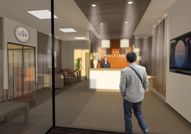 Proposed Reception - Artists Impression_