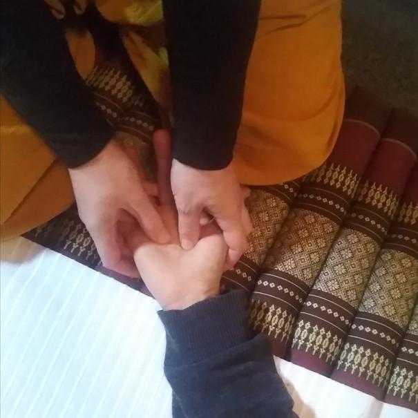 massage thaï , nuad boran, nuad bo'rarn