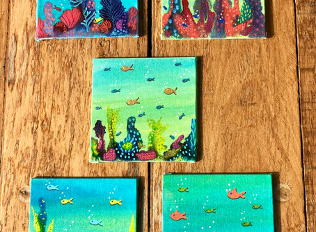 Good Things Come on Small Canvases!