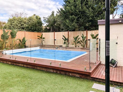 Pool Decking and Fence