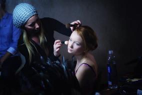 Artista de maquillaje de fantasía