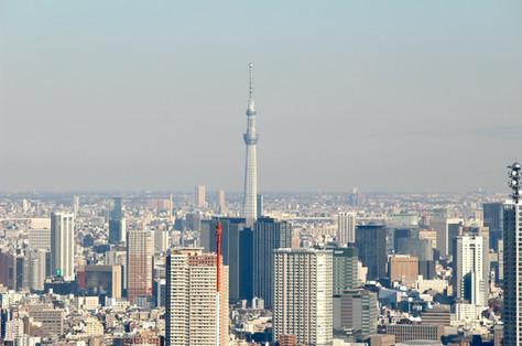 Tokyo Skytree View from the Tokyo Metropolitan Government Takako Kanawa Shoichi Design 金輪 貴子