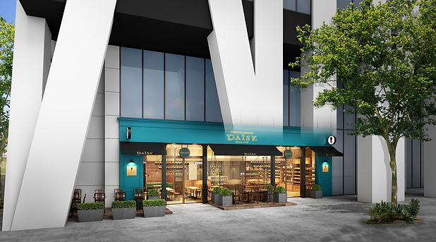 おいしいパンとケーキの店|デイジイ|西新宿店|外観CG.jpg