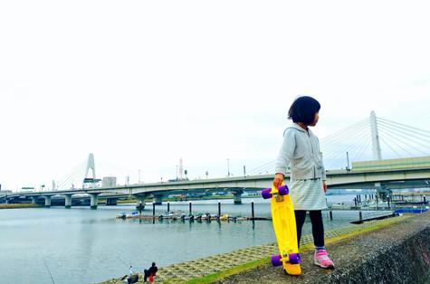 Skateboard Girl|Takako Kanawa|Shoichi Design|金輪 貴子