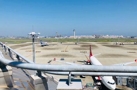 Sky of June|Sky Photo|Tokyo International Airport|Haneda|Tokyo|Japan|空の写真|東京国際空港|Takako Kanawa|Shoichi Design|金輪 貴子