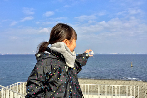 Catch|Nina on the Umihotaru|Takako Kanawa|Shoichi Design|金輪 貴子