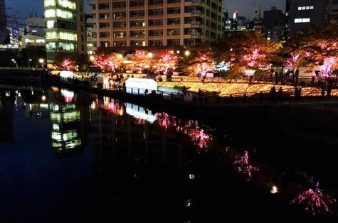 Along the Meguro River Gotanda Tokyo Takako Kanawa Shoichi Design 金輪貴子
