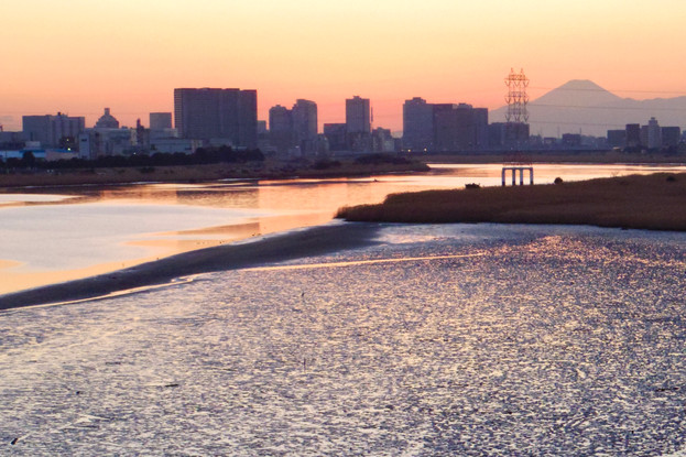 Mt FUJI from Haneda|羽田|空の写真|Takako Kanawa|Shoichi Design|金輪 貴子