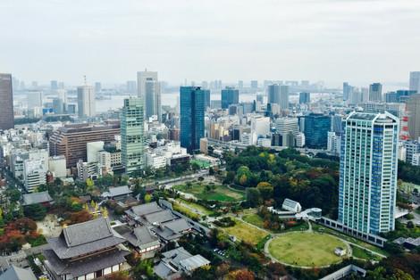 View from Tokyo Tower Takako Kanawa Shoichi Design 金輪貴子