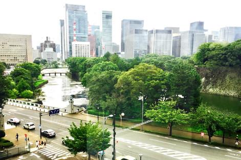 View from the National Museum of Modern Art Tokyo  Takako Kanawa Shoichi Design 金輪貴子
